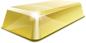 gold bar respresenting a gold standard
