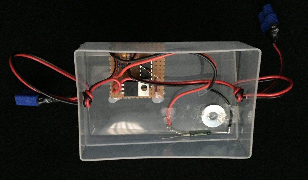 photo of the Timer-delay Off Switch